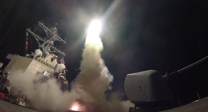 Ataque de EEUU - UK - Francia a Siria